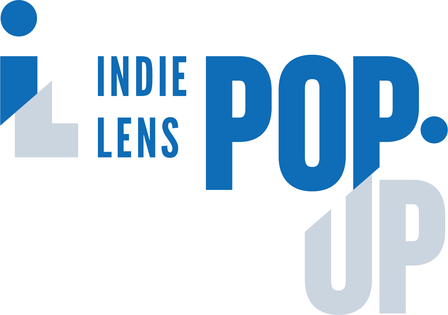 Logo indie lens pop up